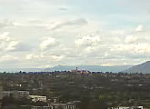 Weather cam with views over the suburbs of Melbourne, pointing south east toward Frankston.
