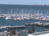 Webcam views of Western Beach, Cunningham Pier and Carousel Pavillion from Geelong, Victoria, Australia.