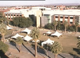 View of student union building,  The University of Arizona.