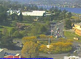 Rounabout traffic webcam in Hobart.