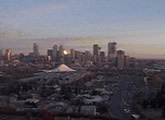 Live view of the Calgary skyline.