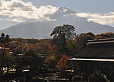Direct view of Mt Fuji. One of the best angles to view the mountain from.