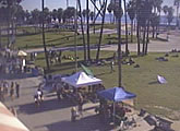 Live view from Venice Beach, California.