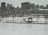 Live webcam view of the Old Port of Montréal.