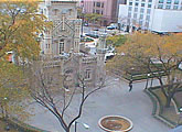 Webcam view over Water Tower Park, Loyola University Chicago.