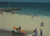Live beach cam from the City of Perth SLSC, WA.