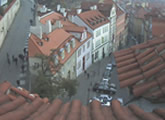 Live view of Prague Castle, updated every hour.