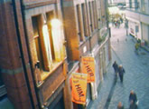 Webcam view of Mathew Street, hosted by Hardys.