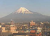 A direct view of Mt Fuji, from an office window.