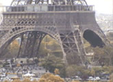 Wonderful live webcams views of the Eiffel Tower.