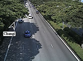 Live traffic webcams from East Coast Parkway (ECP).