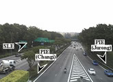 Live traffic webcams from Tampines Expressway (TPE).
