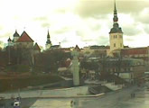 Live webcam view of the old town, Tallinn, Estonia.