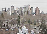 Live view of Calgary skyline.