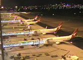 Live webcam view of Adelaide Airport's new terminal - T1.