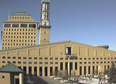 Live webcam view of the Mississauga City Hall.