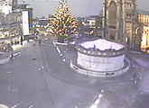 Live webcam view of St Peter Mancroft Church and the Millennium Plain.