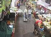 A view inside Adelaide's busy Central Market.