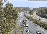 Pacific Motorway traffic cam, Smith St.