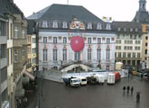 Live webcam view of Bonn Marktplatz and Town Hall.