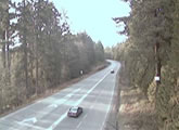 DriveBC highway cam, Central Vancouver Island, 9km east of Port Alberni.