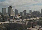 View of downtown Orlando skyline.