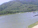 Live view from this Cairns based cable water ski park. Uses Java.