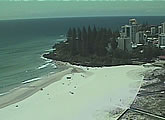 Several live webcams of Coolangatta and Greenmount beaches at the southern end of the Gold Coast.