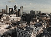 Panoramic view of London.