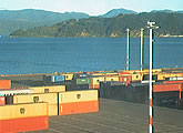 Thorndon Container Wharf, CentrePort, Wellington.