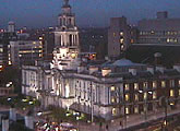 Views of Town Hall and train station. Java / controllable webcam.