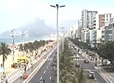 View of beach and Sugarloaf from Ipanema.