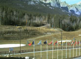Live View from Canmore Nordic Centre Provincial Park (cross country ski park).
