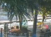 Beach view from  Deer Run Bed & Breakfast, Big Pine Key.
