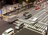 Busy intersection along Chūōdōri in Akiharaba.