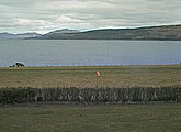 Views of airfield, Sound of Mull and the Scottish mainland.
