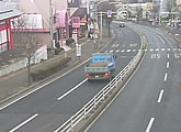 Several traffic cams located near Sendai.