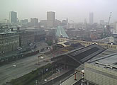 The LateRooms.com Manchester webcam shows a live image of the city centre with view of the full skyline.